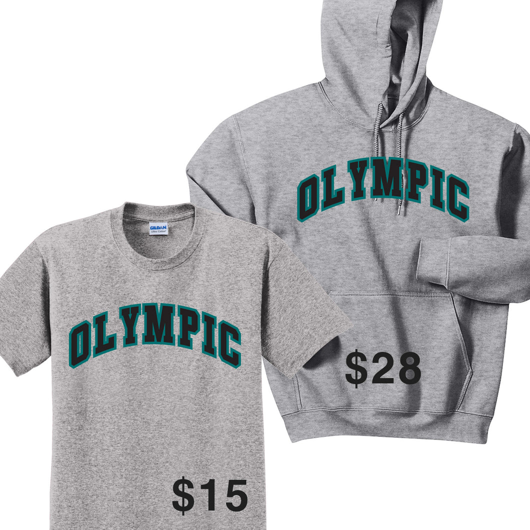 Olympic High Spirit and Staff 2019 - Arch Design T-Shirt and Hooded Sweatshirt