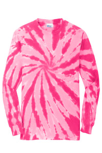 Garment Styles - Tie-Dye Long Sleeve Tee