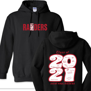 Saint Paul Raiders 2020 - 8oz Hooded Sweatshirt