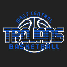 West Central Basketball 2019 - 50/50 T-Shirt