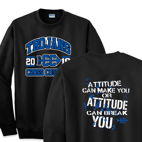 West Central Cross Country 2019 - 9oz Crewneck Sweatshirt & 8oz Youth Crewneck