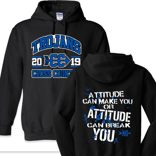 West Central Cross Country 2019 - 9oz Hooded Sweatshirt