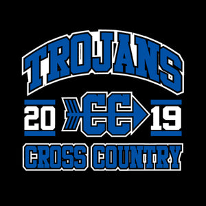 West Central Cross Country 2019 - Wicking Long Sleeve T-Shirt