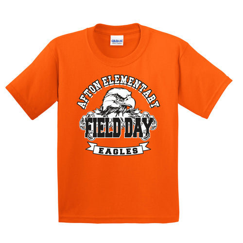Afton Elementary Field Day 2018 - ORANGE TEAM SHIRT