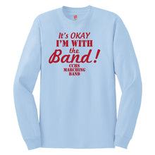 CCHS Marching Band 2018 - Light Blue Hanes Long Sleeve T Shirt
