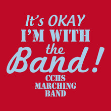 CCHS Marching Band 2018 - Red Ladies 4.5oz. 100% ring-spun cotton