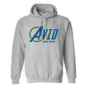 Crook County AVID 2018 Design 1 - Hooded Sweatshirt