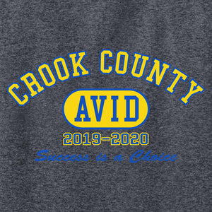 Crook County AVID 2019 - Long Sleeve T Shirt