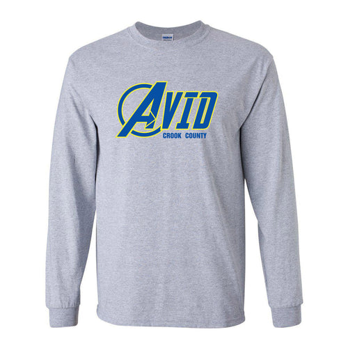 Crook County AVID 2018 Design 1 - Long Sleeve T Shirt