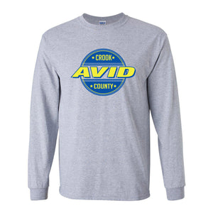 Crook County AVID 2018 Design 2 - Long Sleeve T Shirt