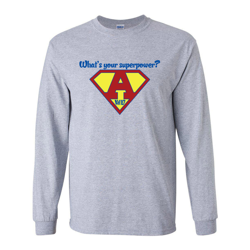 Crook County AVID 2018 Design 3 - Long Sleeve T Shirt
