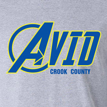 Crook County AVID 2018 Design 1 - 3/4 Sleeve Raglan