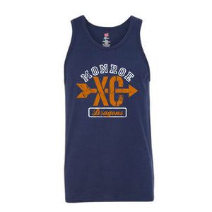 Monroe Dragons Cross Country 2018 - 60/40 Tank