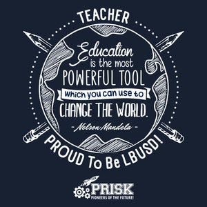 Prisk Elementary Staff 2019 - T-Shirt - WITH NAME