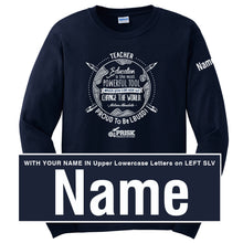 Prisk Elementary Staff 2019 - Long Sleeve Shirt - WITH NAME