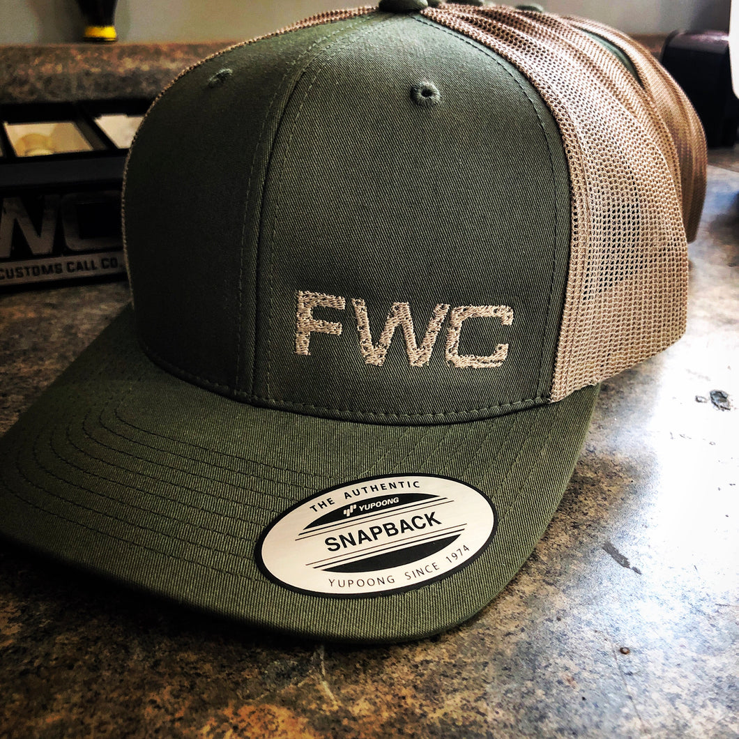 Olive FWC Snap Back