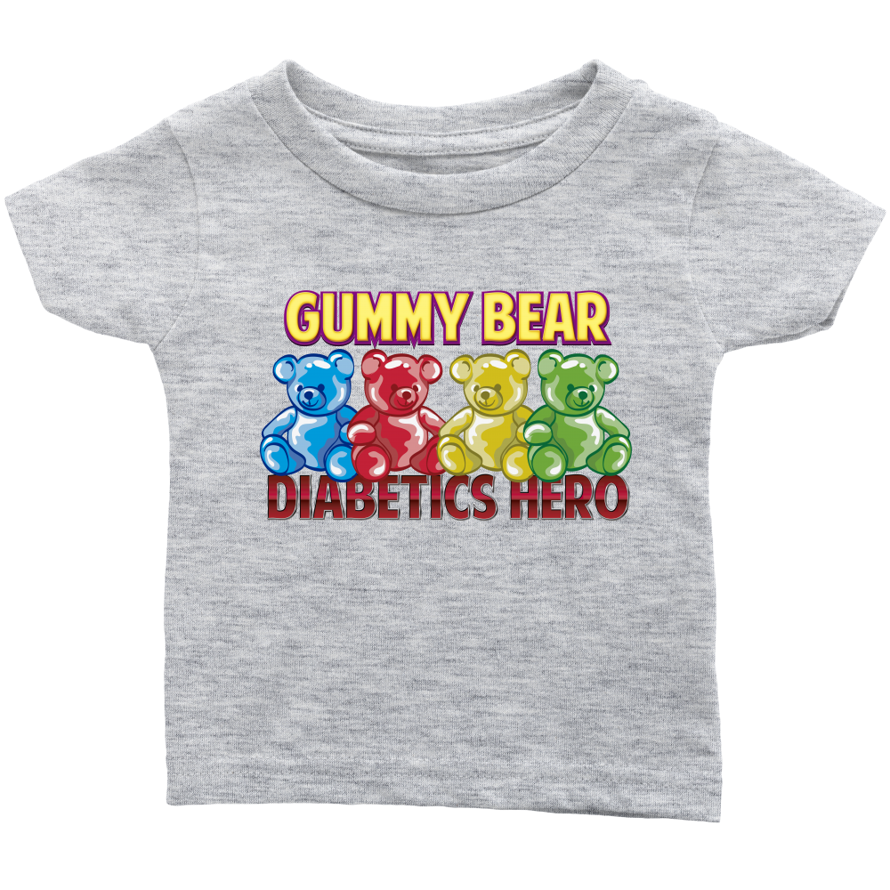 Gummy Bear Diabetes Hero Juvenile Diabetes Awareness Infant T-Shirt