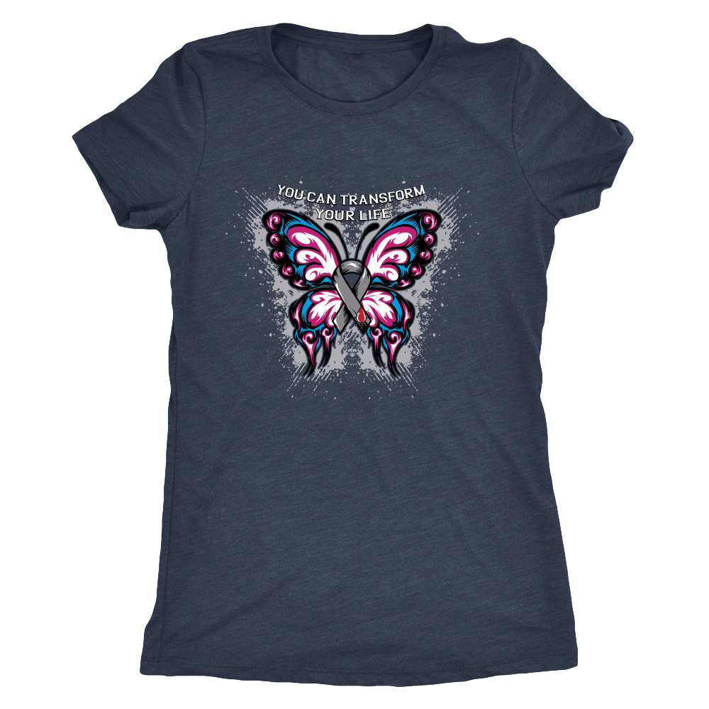 You Can Transform Your Life Diabetes Awareness T-Shirt