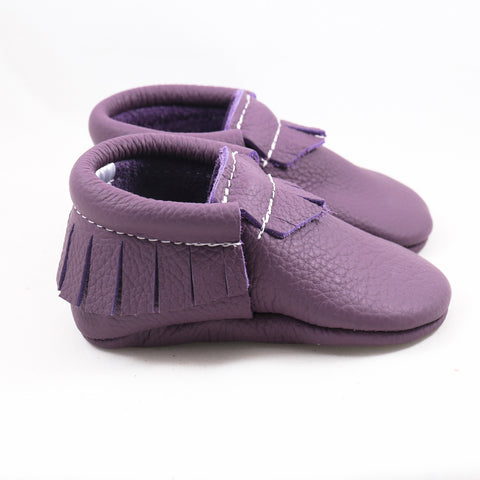 Grape Leather Moccasin