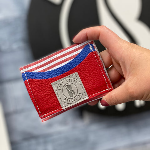 2020 Patriotic Bare Soles Credit Card Holder