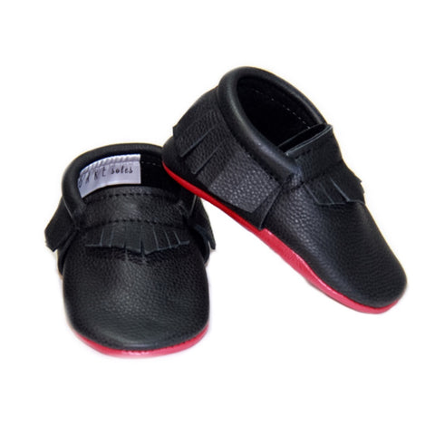 "Little ""Loubs"" Black/Red"