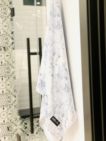 Bare Soles Printed Bath Towel