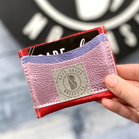 Laced With Love Bare Soles Credit Card Holder