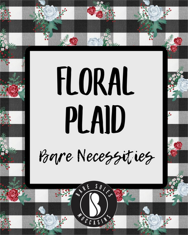 Floral Plaid Bare Necessities