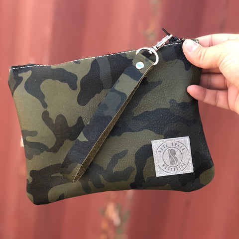 Green Camo Bare Bag