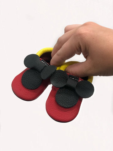 Mickey Head Moccasin