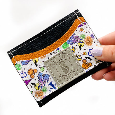 Spooky Magical Bare Soles Credit Card Holder
