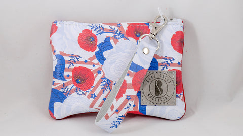 Patriotic Floral Bare Bag