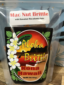 Aloha Brittle - Macadamia Nut Brittle - The Original Donkey Ball Store