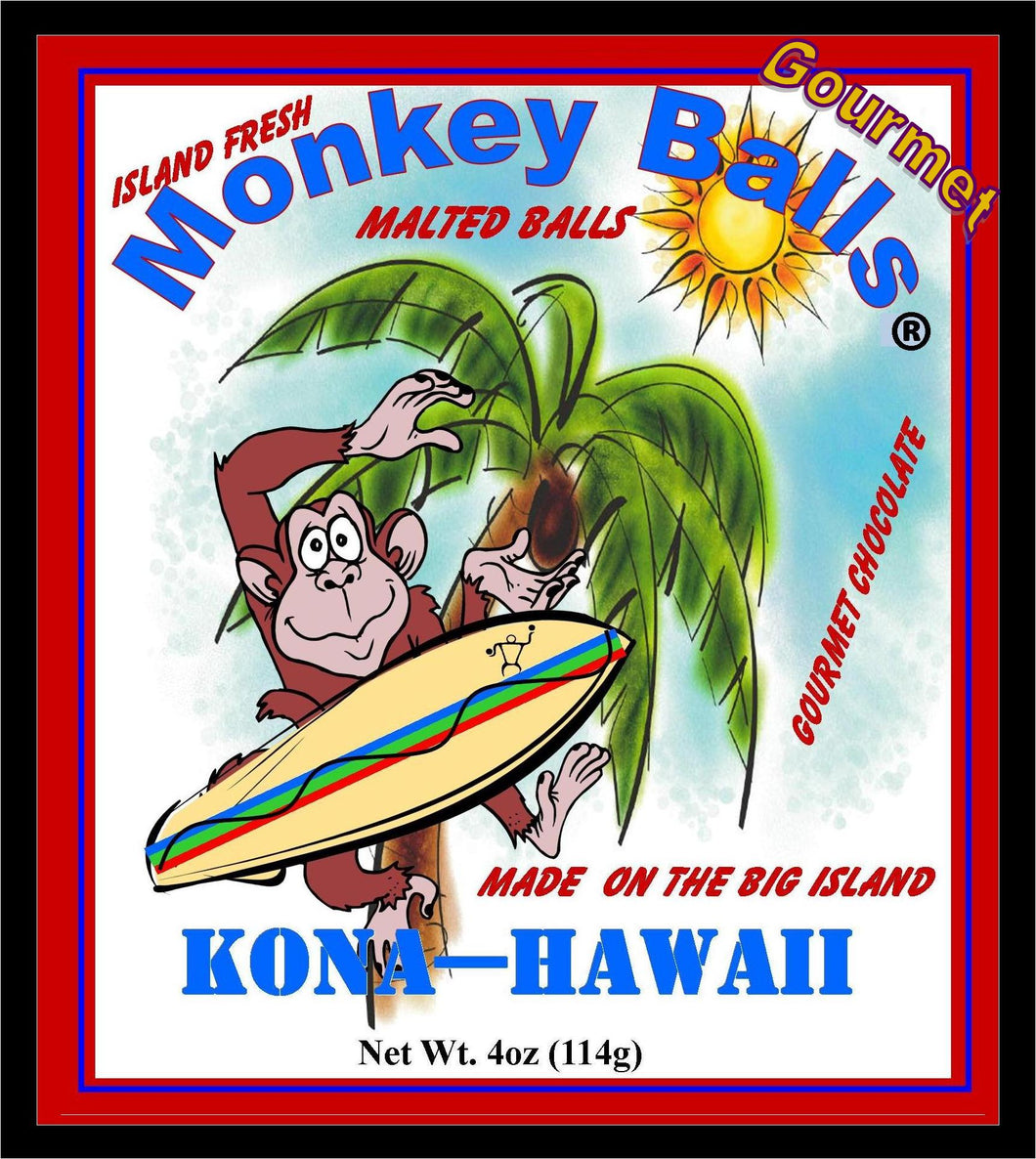 Monkey Balls - Lilikoi Malted Balls - The Original Donkey Ball Store