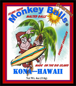 Monkey Balls - Coconut Malted Balls - The Original Donkey Ball Store