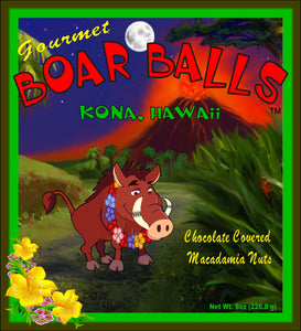 Coconut Boar Balls - The Original Donkey Ball Store