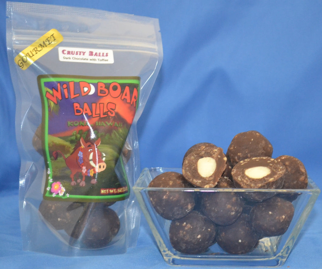 Crusty Balls - Dark Chocolate Donkey Balls - The Original Donkey Ball Store