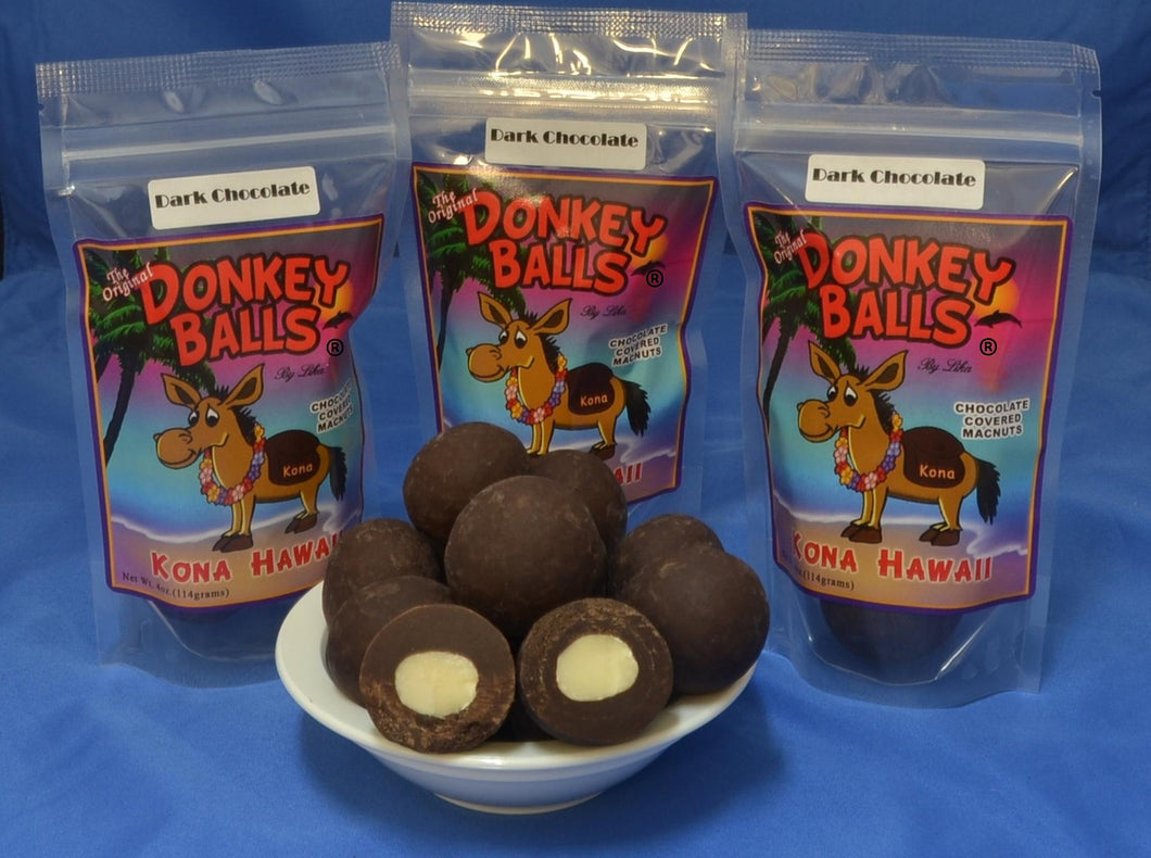 Classic Balls - Dark Chocolate Donkey Balls - The Original Donkey Ball Store