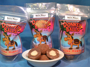 Dirty Balls - Dark Chocolate Donkey Balls - The Original Donkey Ball Store