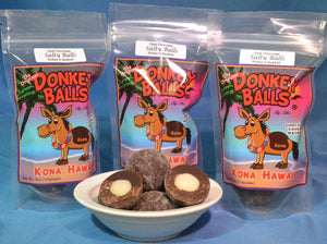 Salty Balls - Dark Chocolate Donkey Balls - The Original Donkey Ball Store