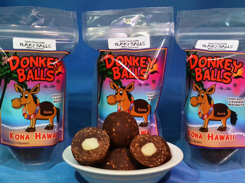 Flaky Balls - Dark Chocolate Donkey Balls - The Original Donkey Ball Store