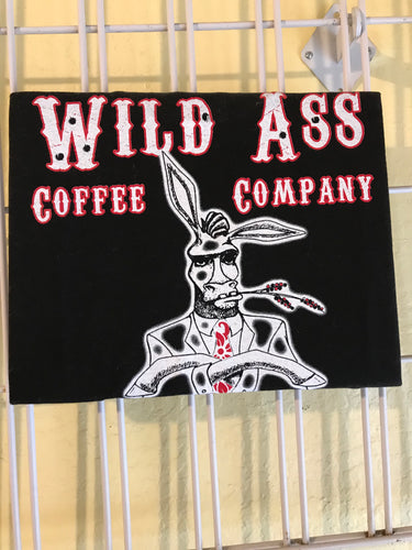 Wild Ass Coffee Company T-Shirt - The Original Donkey Ball Store