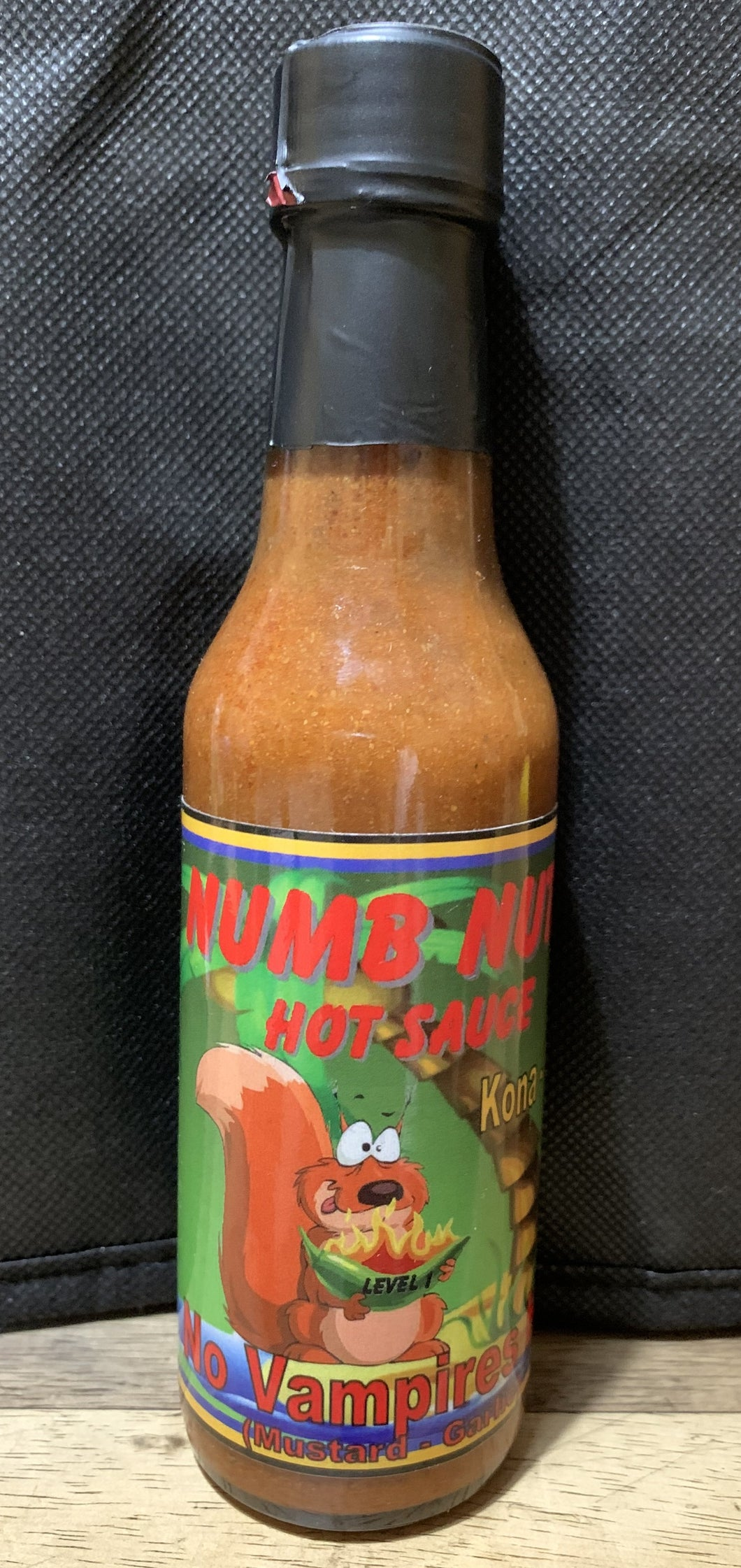 Numb Nuts Hot Sauce - No Vampires Here (Level 1)