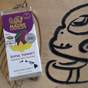 Madre Chocolate - Kona 70% Hawaiian Dark Chocolate Bar - The Original Donkey Ball Store