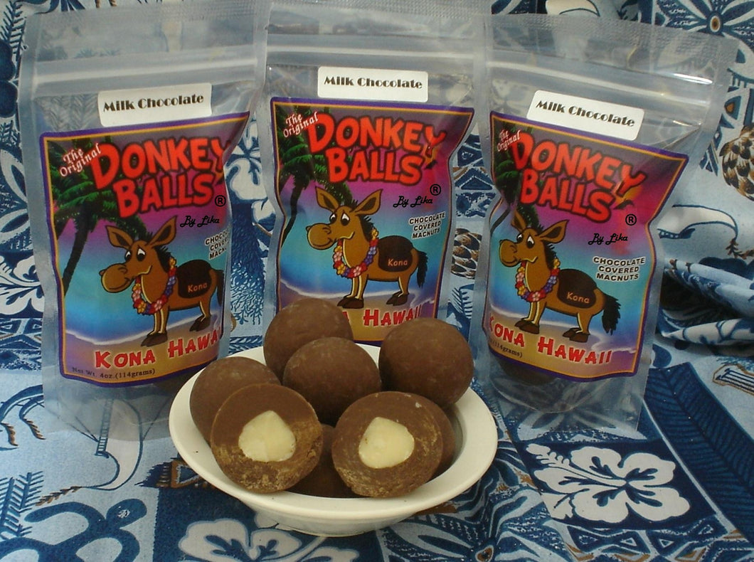 Classic Balls - Milk Chocolate Donkey Balls - The Original Donkey Ball Store