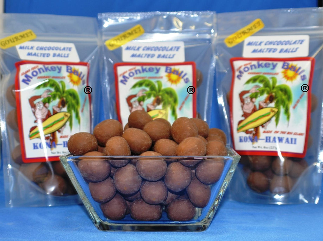 Monkey Balls - Milk Malted Balls - The Original Donkey Ball Store