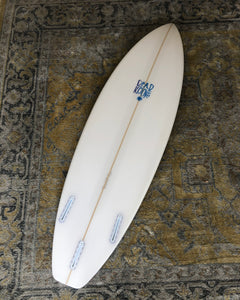 Shorty - 5'11 Clear with White Carbon (NEW)