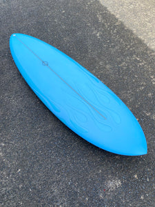 Hellcat - 5'11 Baby Blue Flame