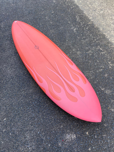 Hellcat - 6'3 Coral Flame