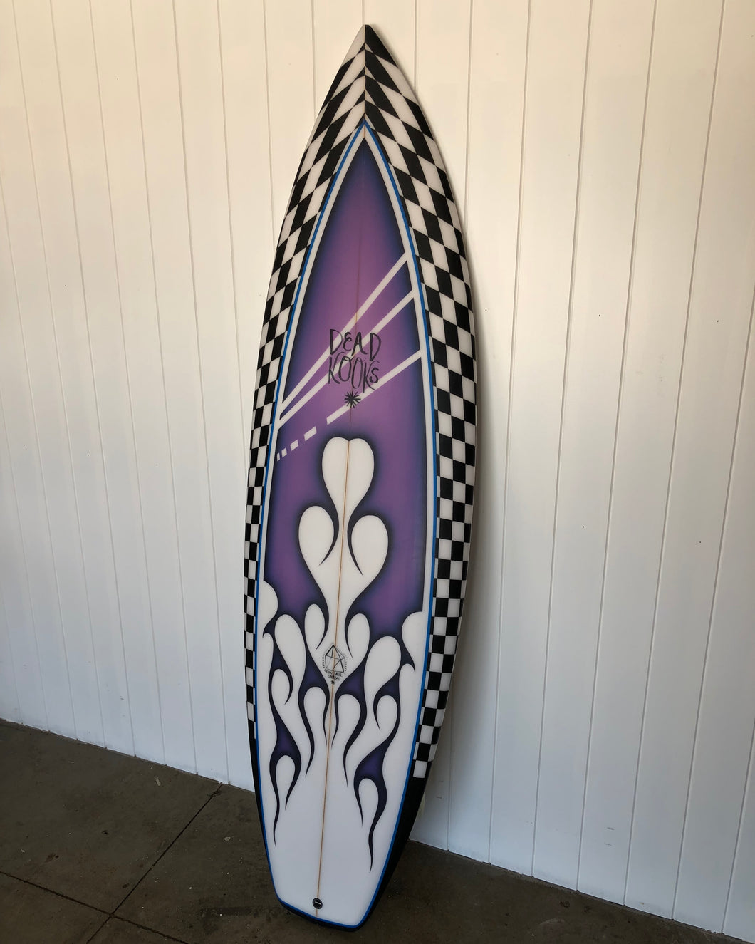 Flatdeck Thruster - 5'11 Purple Rain